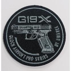 Parche Glock 19X